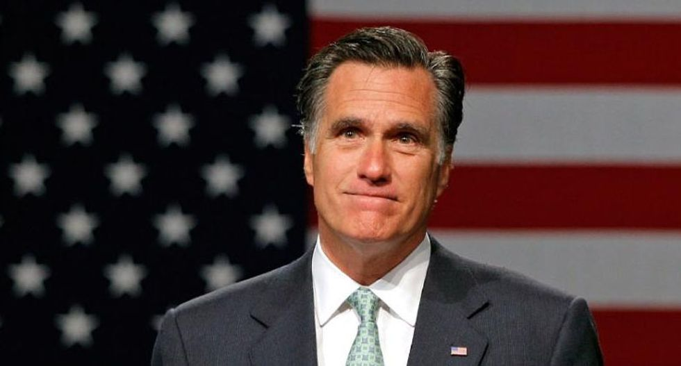 'Pierre Delecto — A Profile in Courage': Internet erupts after 'coward' Mitt Romney caves to McConnell's rules