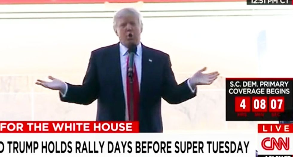 WATCH: Donald Trump blames Trump University legal woes on 'hostile' judge who 'happens to be Spanish'