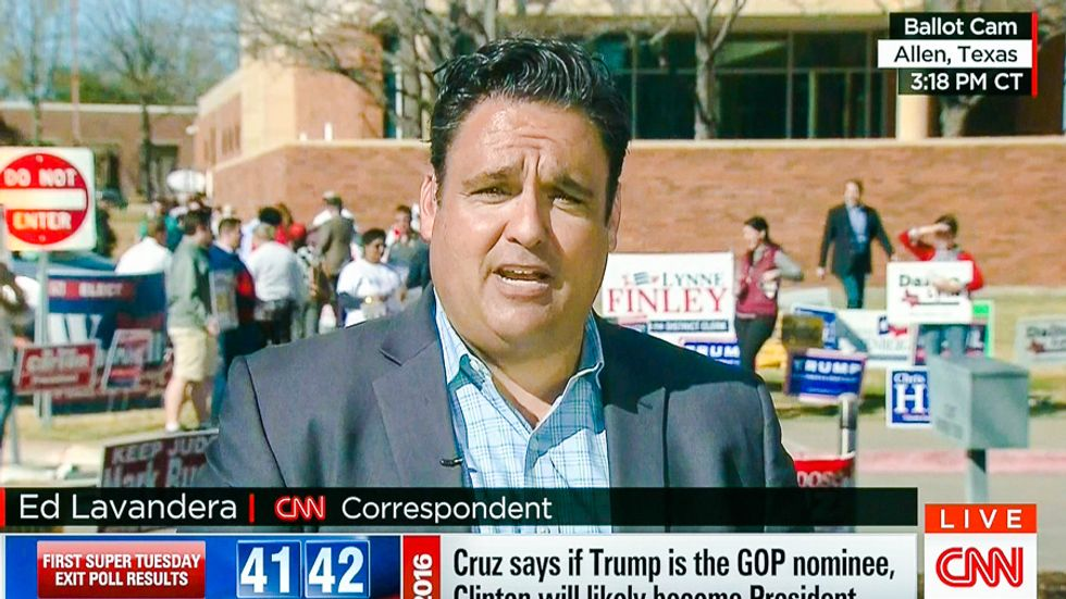 'They shrugged it off': Voters at Texas polls tell CNN they are 'willing to look past' Trump's KKK problems