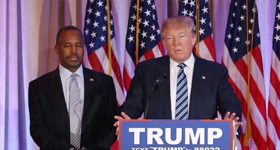 Donald Trump and Ben Carson are destroying one of MLK's most enduring legacies