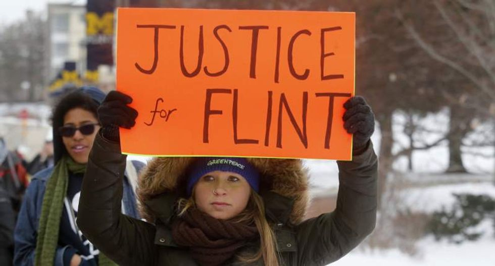 Flint families sue government officials and consultants over childrens' water poisoning