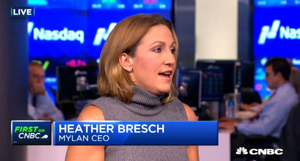 WATCH: Mylan CEO Heather Bresch goes down in flames defending $16M pay raise and EpiPen price hike