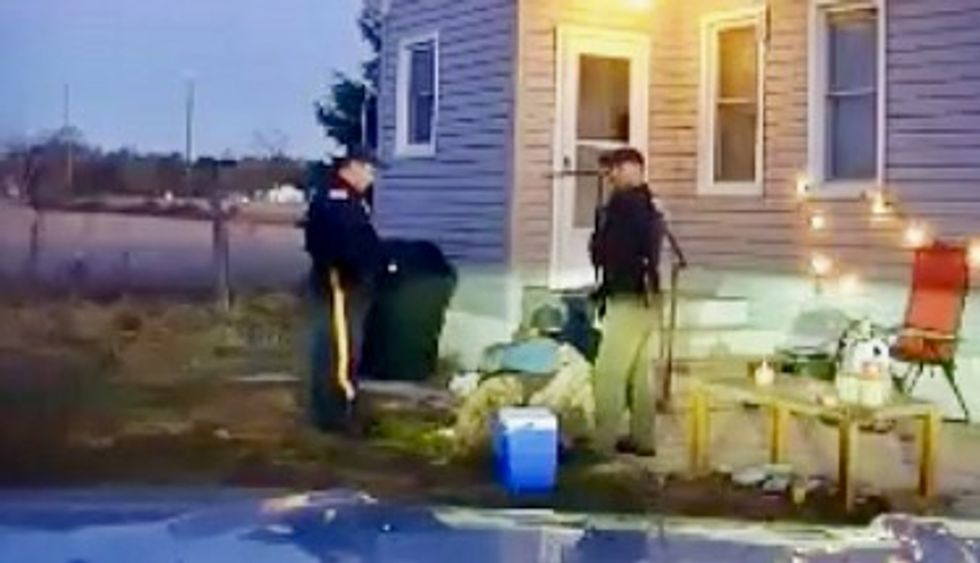 Dashcam video shows New Jersey cop kicking handcuffed suspect in head