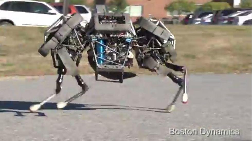 Google buys Boston Dynamics. Skynet, here we come