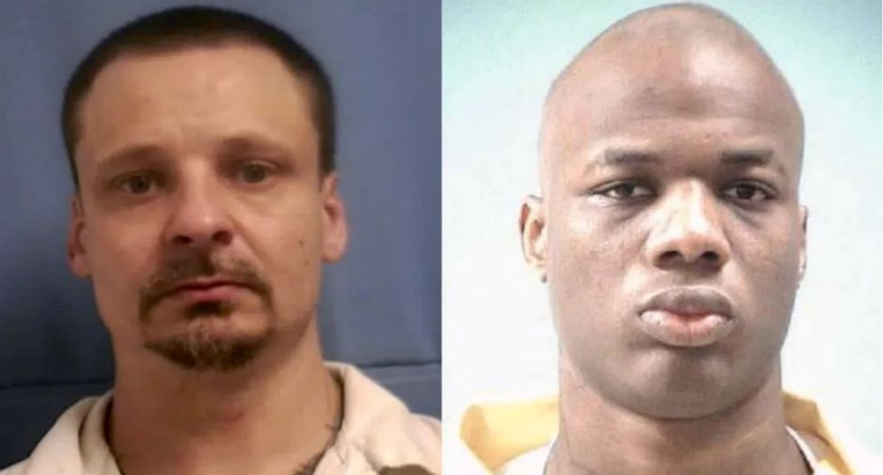 Two men, one a convicted murderer, escape from Mississippi prison