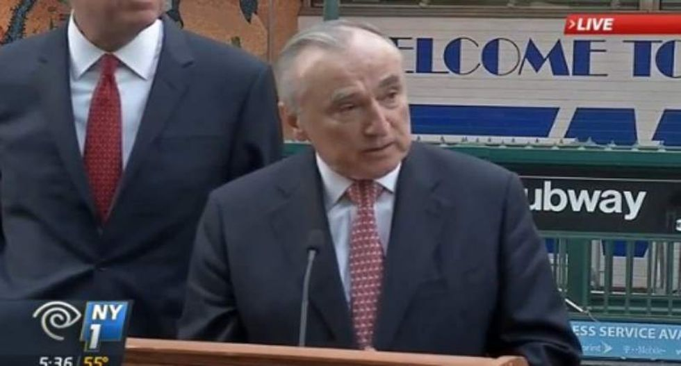 NYPD chief Bratton rips Ted Cruz: Calling for anti-Muslim 'patrols' is why he won't be president
