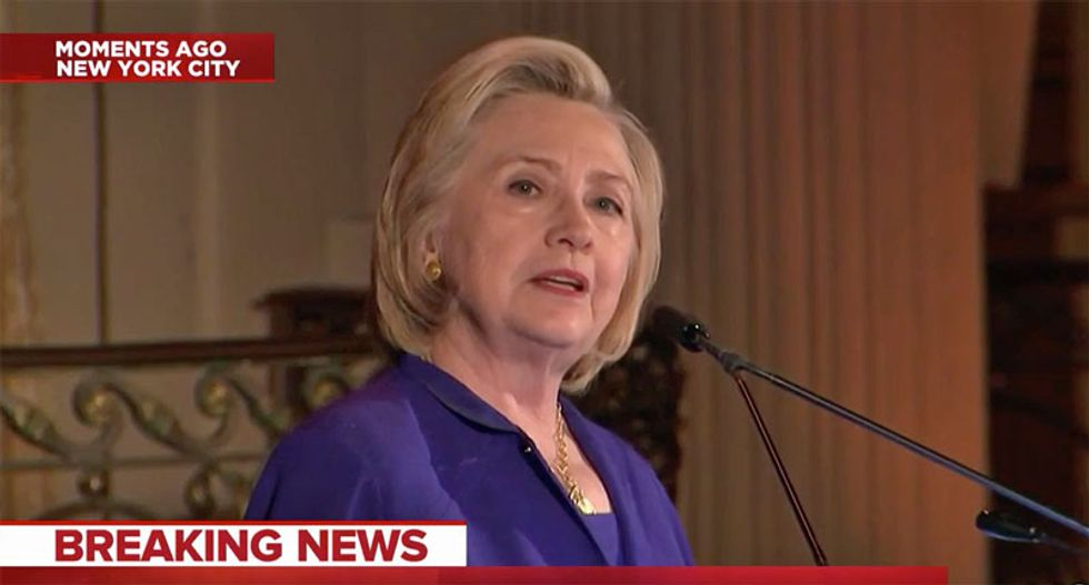 Clinton drops a stunning claim: Russia is grooming a 2020 Democrat to launch third-party presidential run
