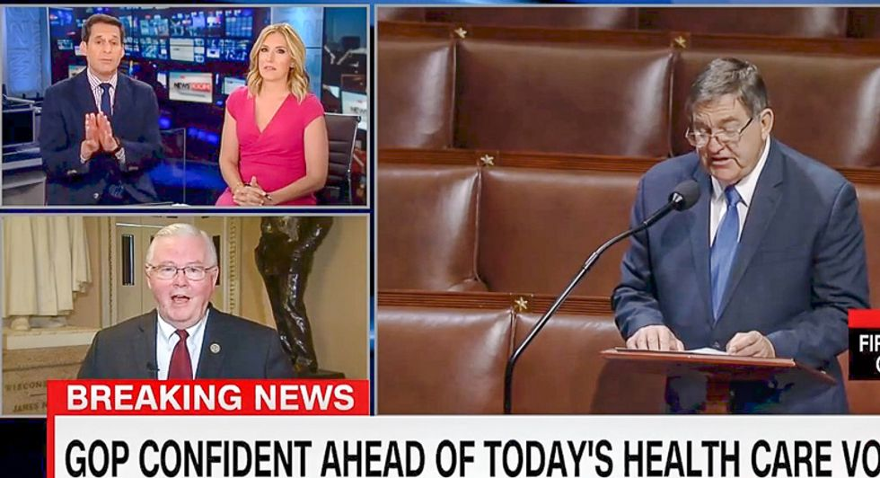 'I don't know': GOP rep. falls apart on CNN and admits he has no idea how health care bill actually works