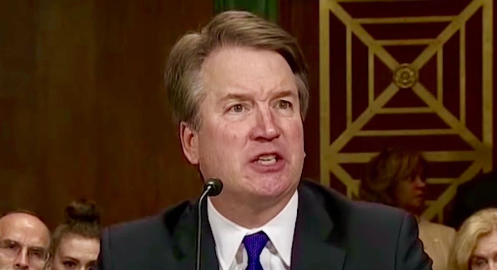 BUSTED: Brett Kavanaugh lied about 'busting tail' to get into Yale with 'no connections' -- he was a legacy