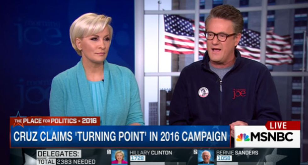 'Morning Joe' predicts convention chaos: GOP hates Donald Trump -- but they 'loathe' Ted Cruz
