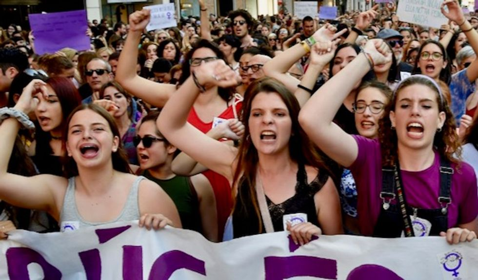 Protests across Spain as sexual abuse gang released on bail