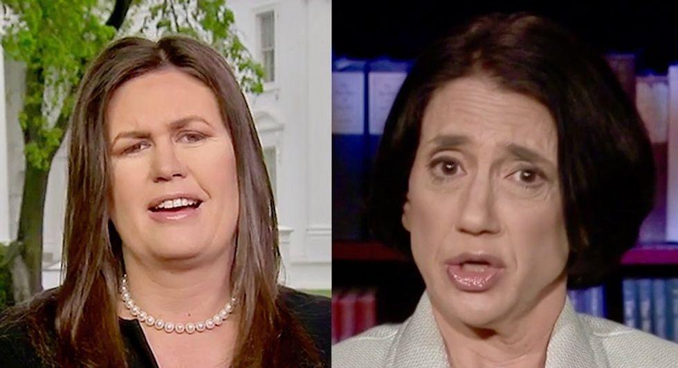 Conservative columnist praises restaurant that threw Sarah Huckabee Sanders out: 'decent human beings' should 'shame and shun'