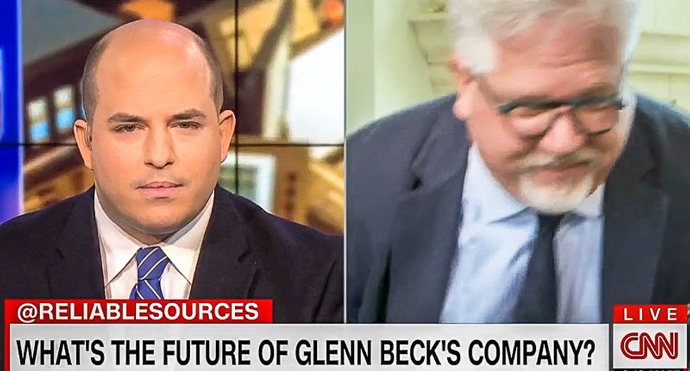 Epic meltdown: Glenn Beck walks out on CNN interview after host asks why his company is 'imploding'