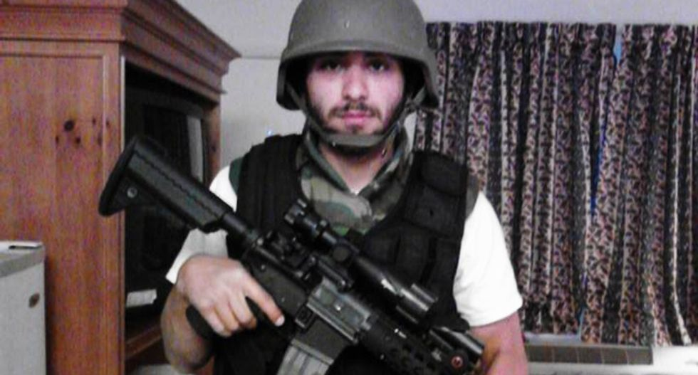 Sandy Hook truther charged with plotting mass shooting to protect 2nd Amendment from 'f*ggots'