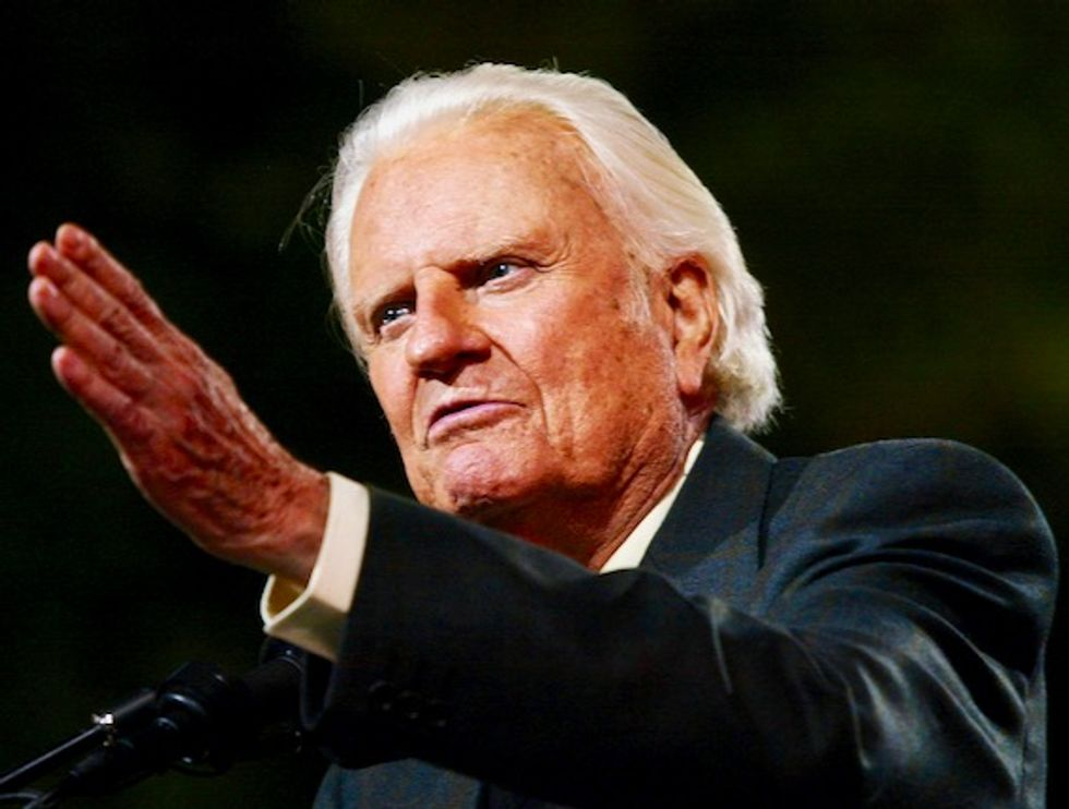 Billy Graham to lie in honor at Capitol: House speaker