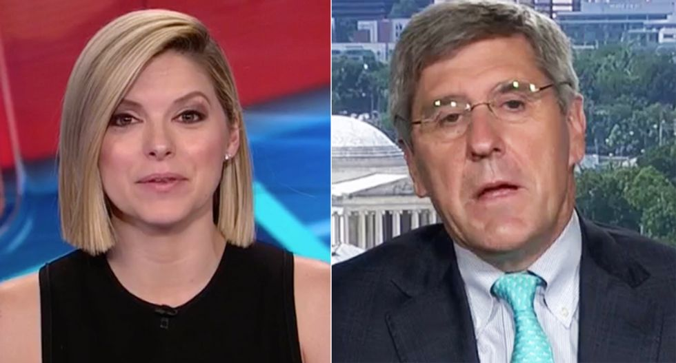 CNN's Bolduan hilariously stumps Trump economist attacking Harley execs: You want them to 'eat a $100 million loss?'