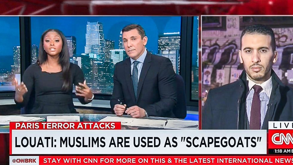 WATCH: CNN anchors berate innocent Paris Muslim because he won't 'accept responsibility' for attack