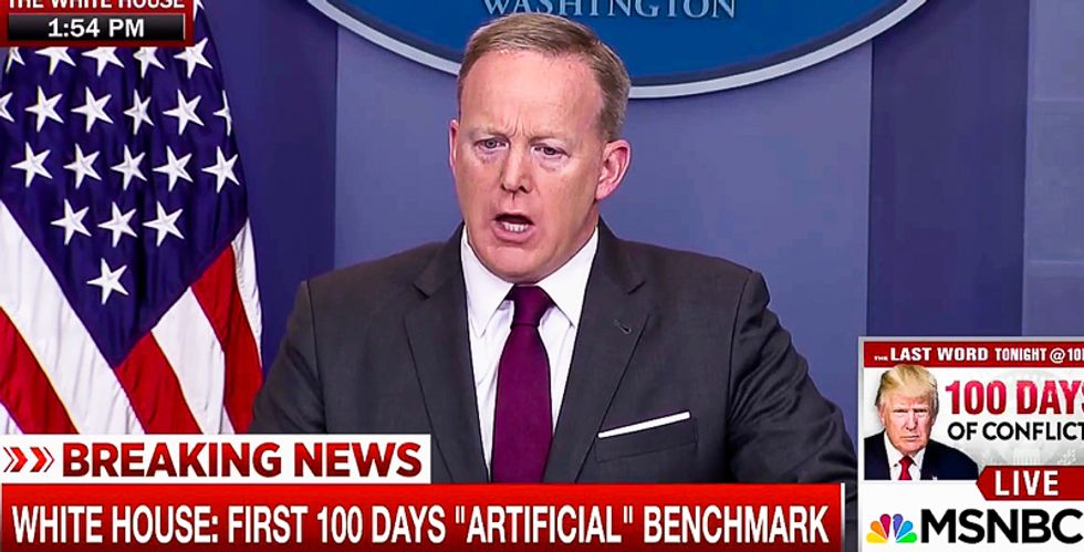 Sean Spicer: I 'absolutely' regret making false statements about the size of Trump's inauguration crowd