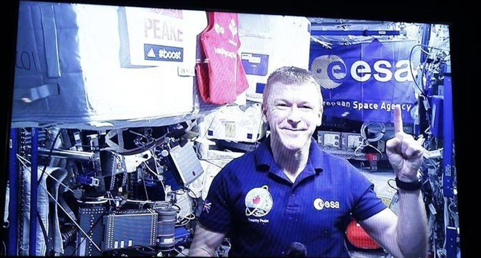British astronaut becomes first man to run marathon in space