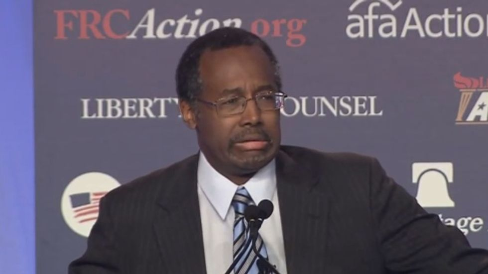Fox News' Ben Carson: 'Re-educate the women' because 'they get all riled up' over abortion