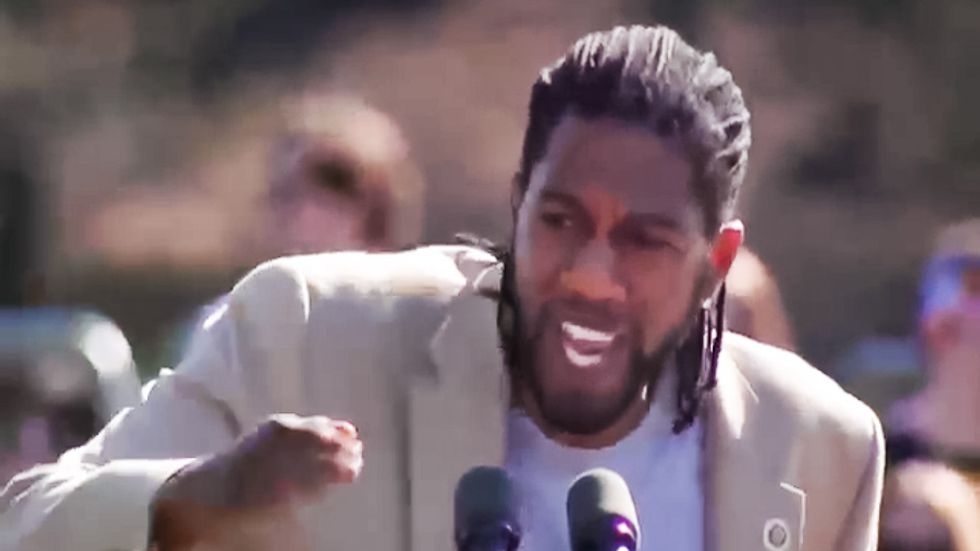 Brooklyn councilman electrifies Sanders rally: 'You're goddamn right' he's waging 'war with reality'