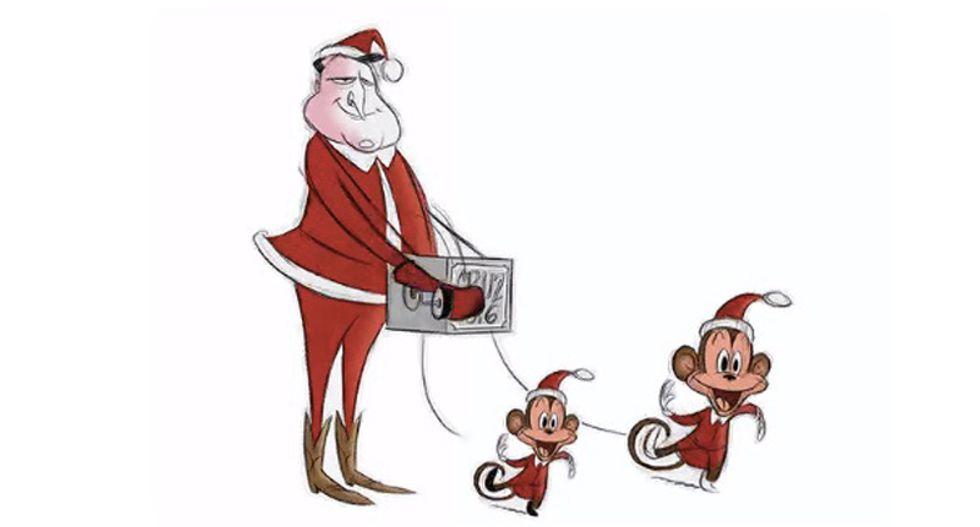 Washington Post deletes cartoon of Ted Cruz's kids as organ grinder's monkeys after candidate complains