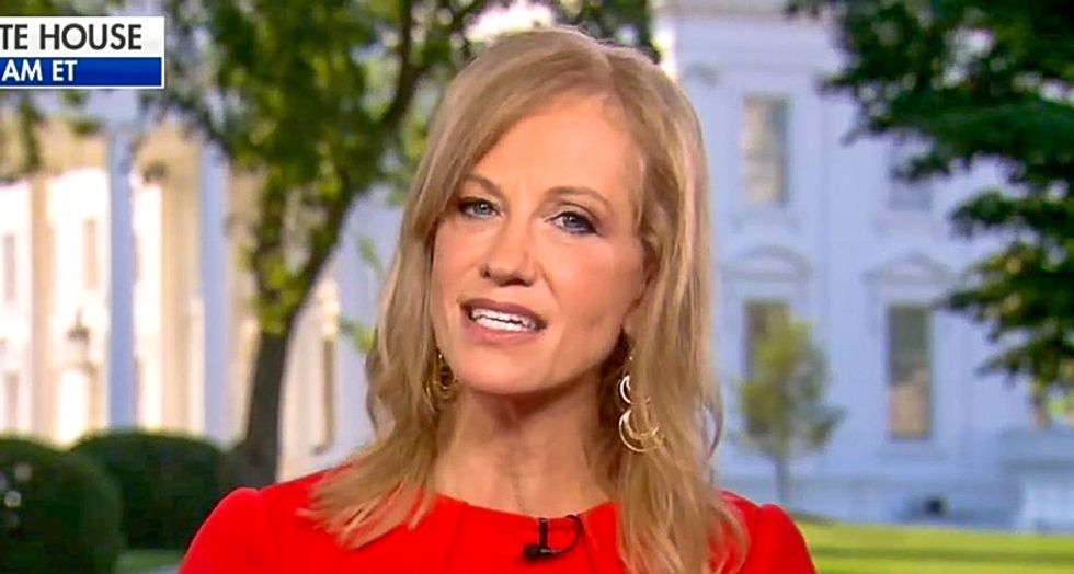 Kellyanne Conway snaps after CNN's John Berman reads her Trump's divisive statements: 'You're cherry picking!'