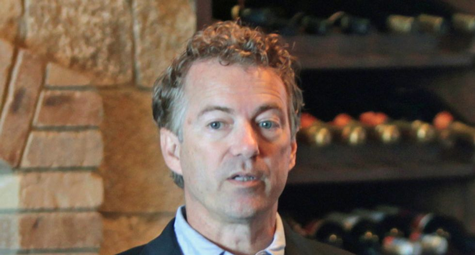 Rand Paul's positions around impeachment inquiry are 'a hot mess': MSNBC host