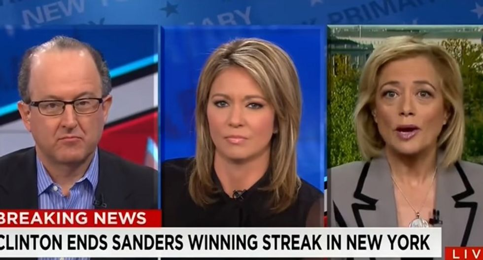 WATCH: CNN host shuts down Bernie supporter after he accuses her of going soft on Hillary
