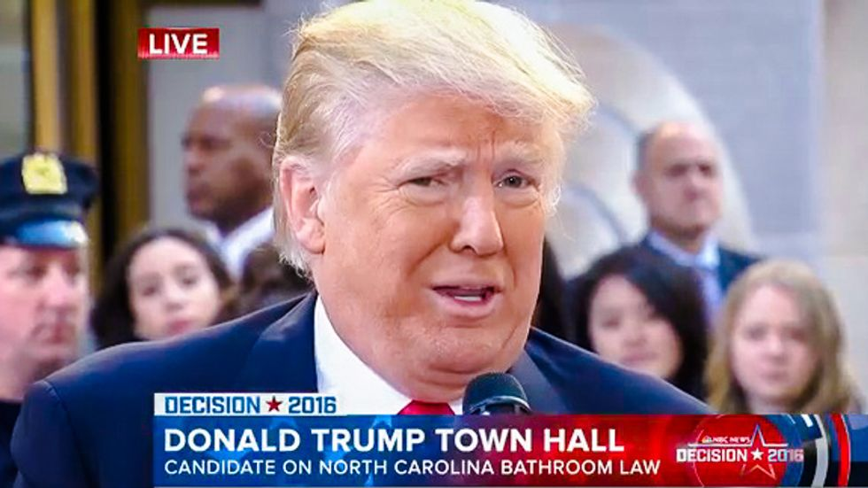'Bull f*cking sh*t': Trump gets a taste of his own fat-shaming as Twitter rips claim he's 236 lbs