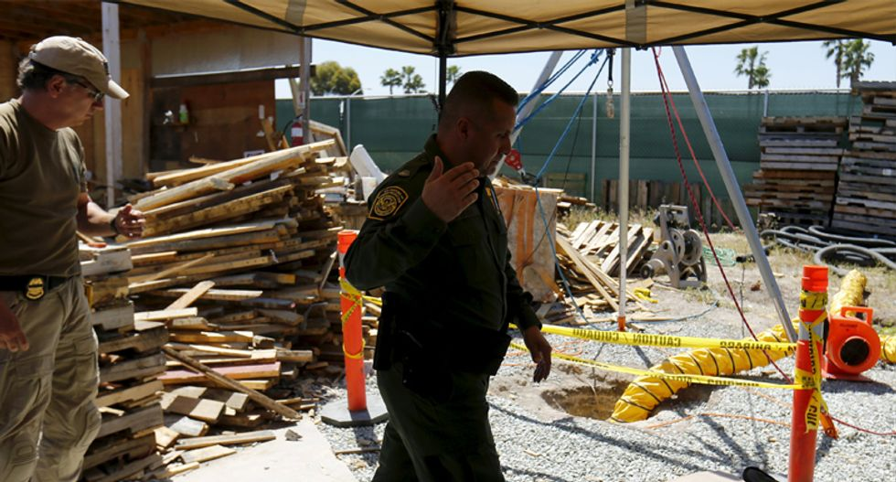 US border agents seize longest Mexico-California drug tunnel yet