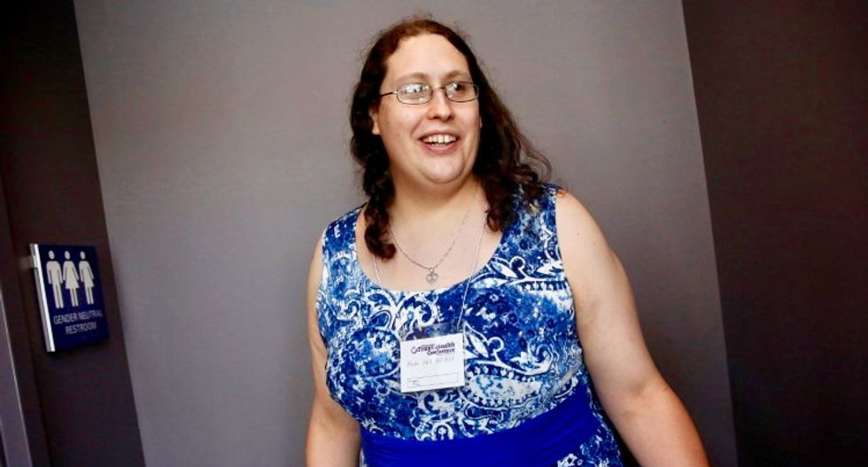 US judge allows first transgender person to sue under disability law