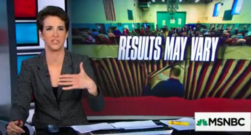 Rachel Maddow absolutely destroys Maine's GOP governor for denying life-saving drug to overdose victims
