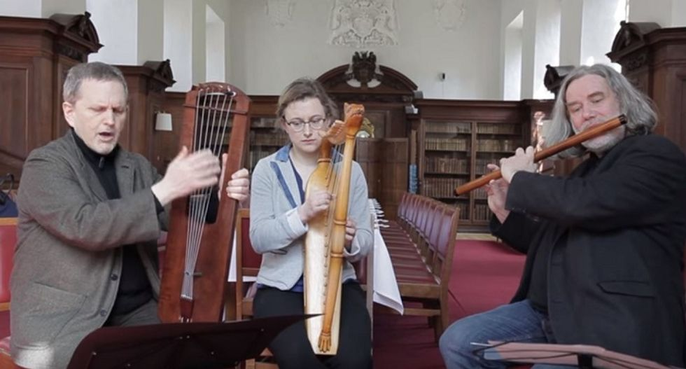 WATCH: These musicians recreated lost medieval music that hasn't been heard for 1,000 years