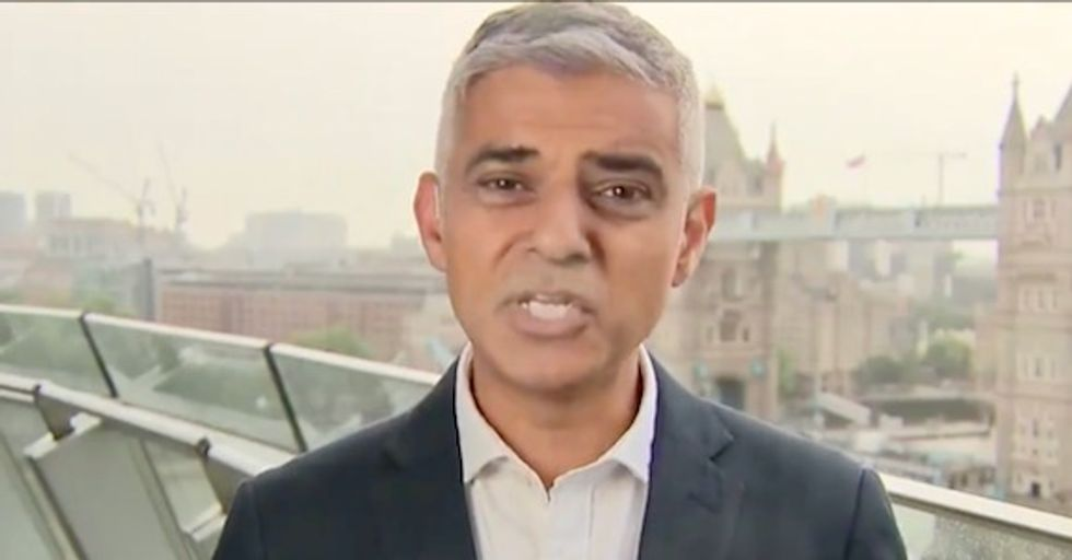 London Mayor Sadiq Khan to Trump: 'You're a poster boy for the far-right movement around the world'