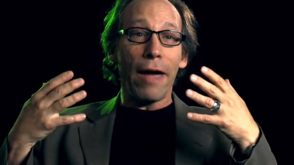 'I can tell you how Lawrence Krauss ended up in our film. He signed a release form and cashed a check'