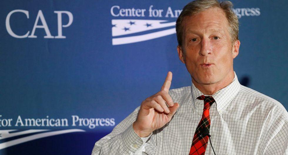 Billionaire green donor launches U.S. millennial voter drive