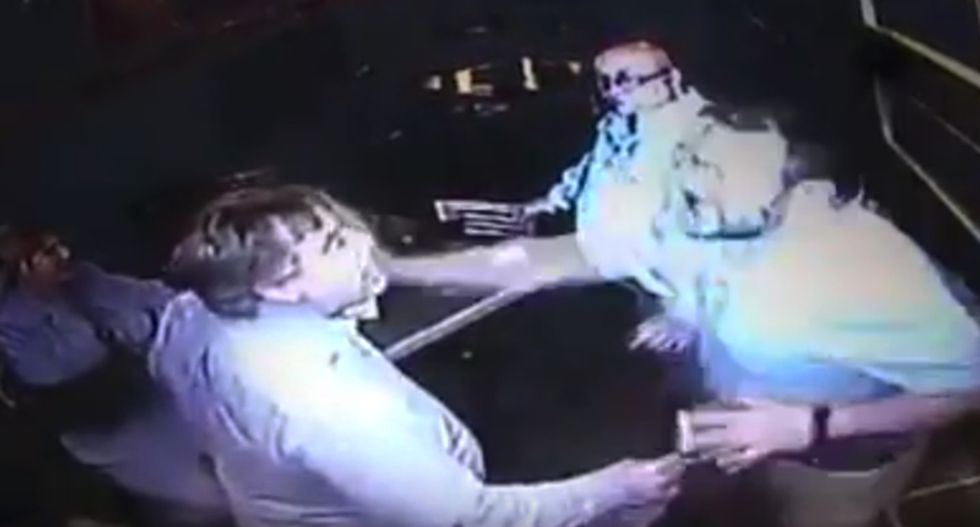 WATCH: Illinois councilman punched in the face after insulting Marines and calling man 'a f*cking spic'