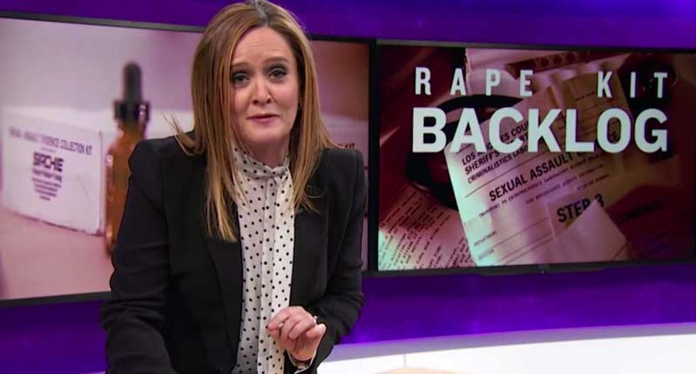 Samantha Bee's staff celebrates passage of law they brought nation's attention to: Georgia's Rape Kit Law