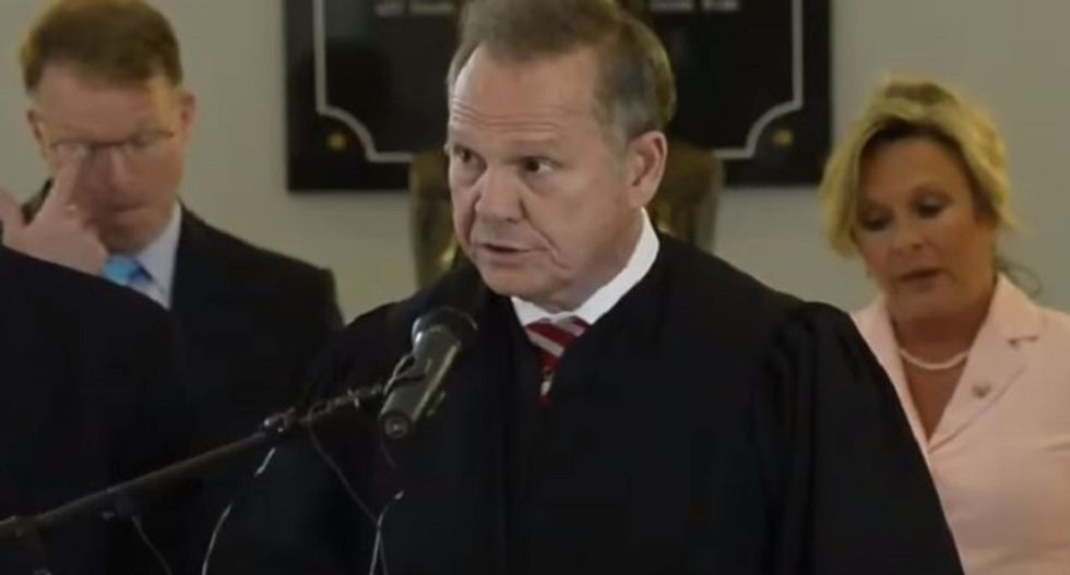 Roy Moore was suspended from his chief judgeships twice -- but he'll still getting a huge pension for them