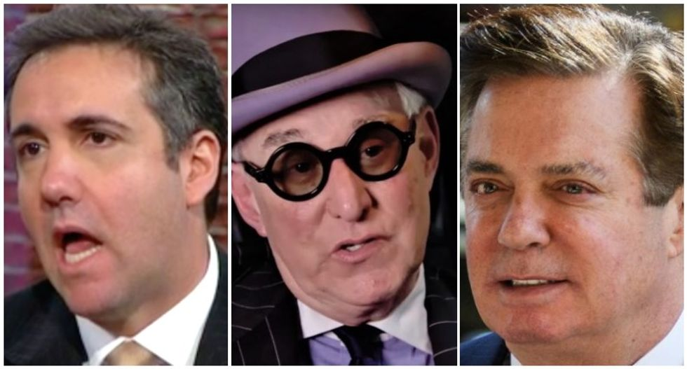 All the president's bag men: Here are the Trump cronies who were indicted, convicted or imprisoned this year