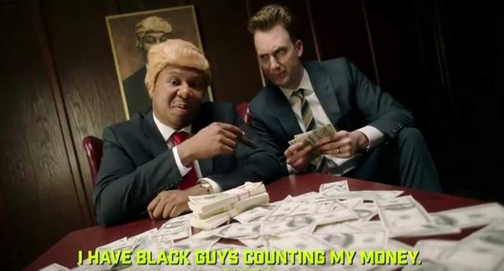 WATCH: 'The Daily Show' roasts Trump with his own rhetoric in an awesome hip-hop parody