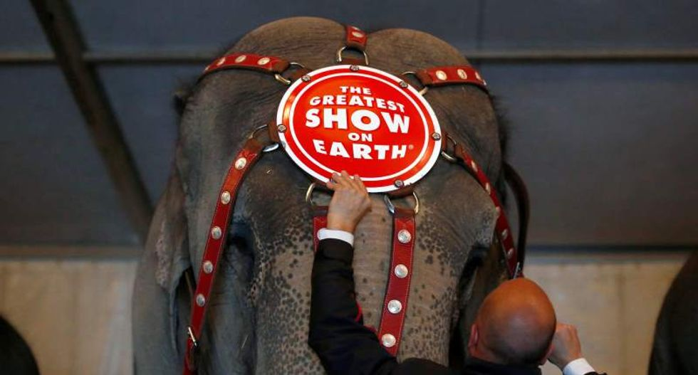 Ringling Bros. circus prepares to send off elephant act after 145 years under big top