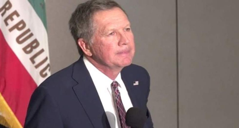 John Kasich gets defensive when asked if people are born gay: 'I don't know how it all works'