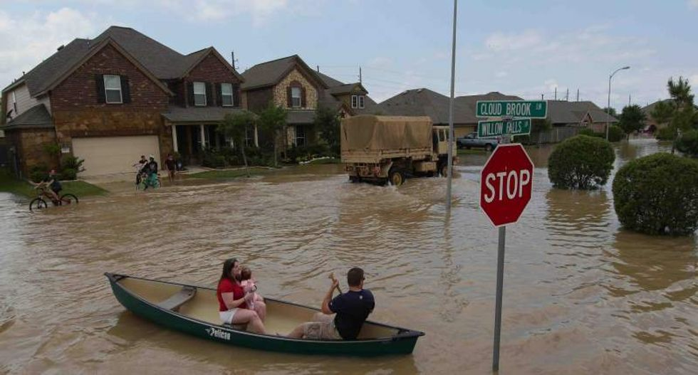 Five people killed in Texas as flooding and tornadoes batter Midwest
