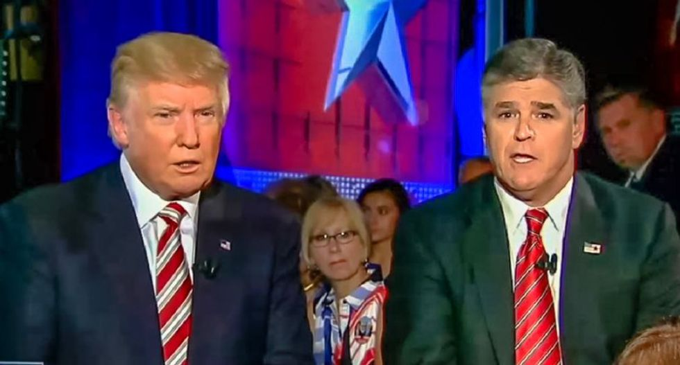 Sean Hannity will 'fold like a cheap suit' and defend Trump despite 'so much losing' on the wall: MSNBC panel