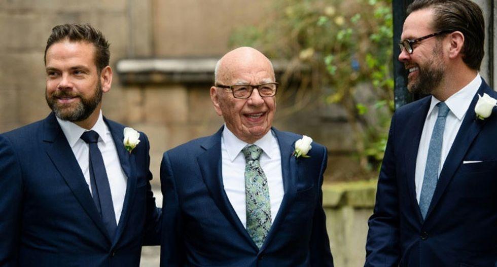 Rupert Murdoch's son rips Fox News for pushing falsehoods about Australian wildfires