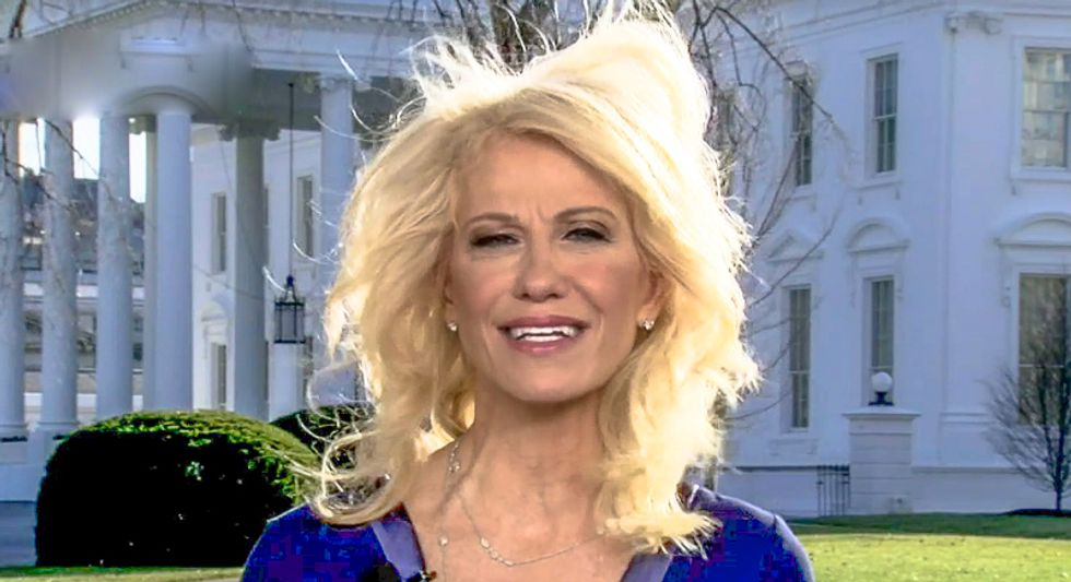 George Conway says we'll learn 'soon' who 'Anonymous' really is -- but what if it's his wife Kellyanne?