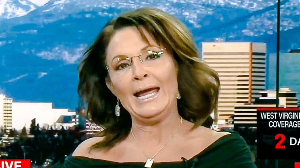 'Choose me': Sarah Palin says she's 'as vetted as anybody in the country' for Trump's VP