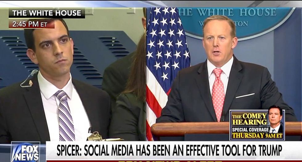 Sean Spicer: Trump's tweets are considered 'official statements' by the White House